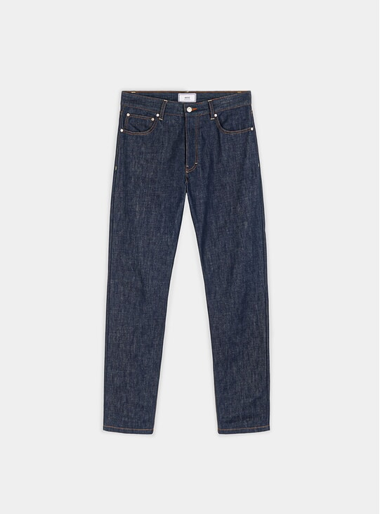 Indigo Straight Fit Jeans