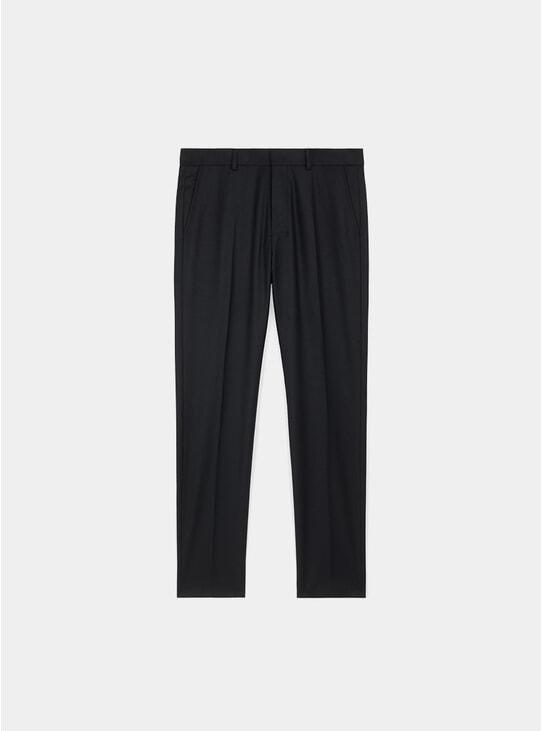 Black Cigarette Fit Trousers