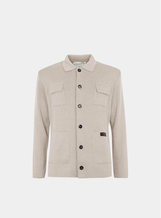 Ivory Organic Cotton Jacket