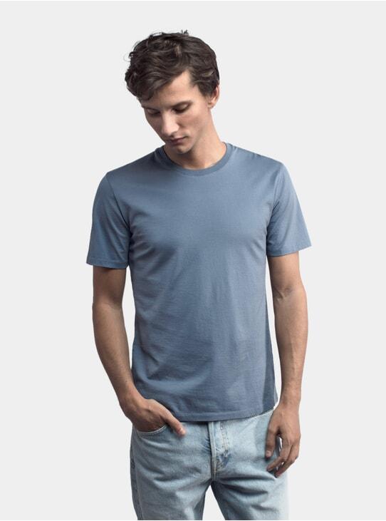 Cold Blue Lightweight T Shirt