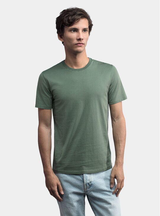 Cold Green Lightweight T Shirt