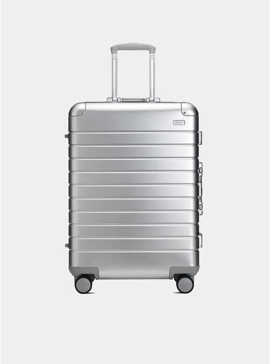 Aluminium Edition The Medium Carry-On Suitcase