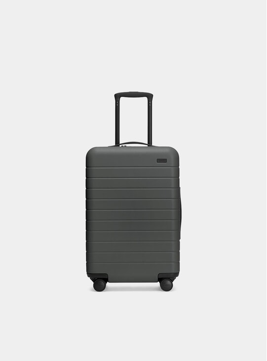 The Asphalt Bigger Carry-On Suitcase