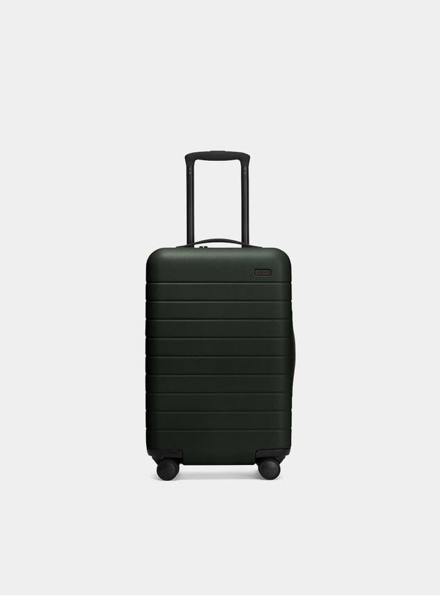 The Green Carry-On Suitcase