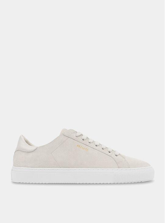 Beige Clean 90 Suede Sneaker