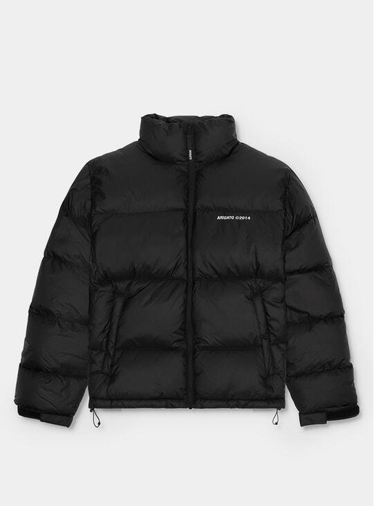 Black Observer Puffer Jacket