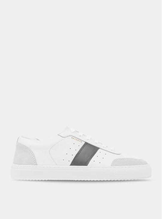 Dark Grey / White Dunk Sneaker