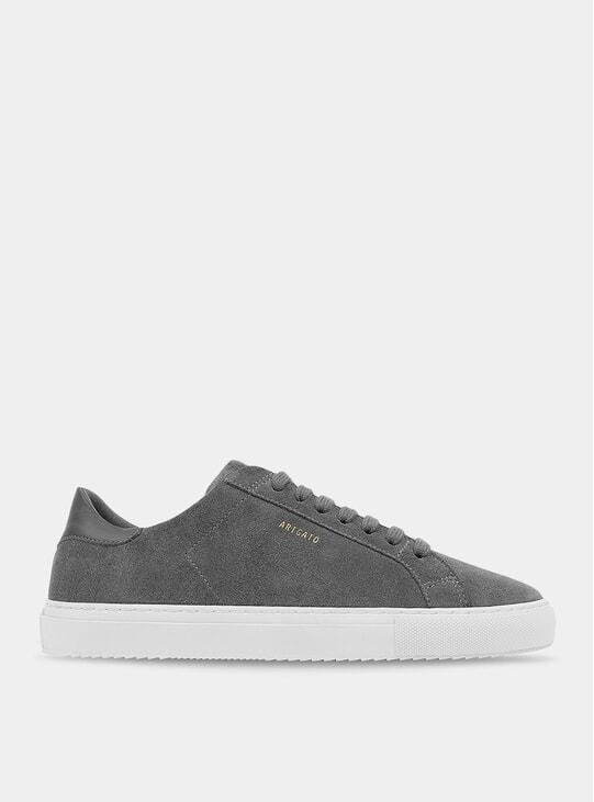 Grey Suede Clean 90 Sneaker