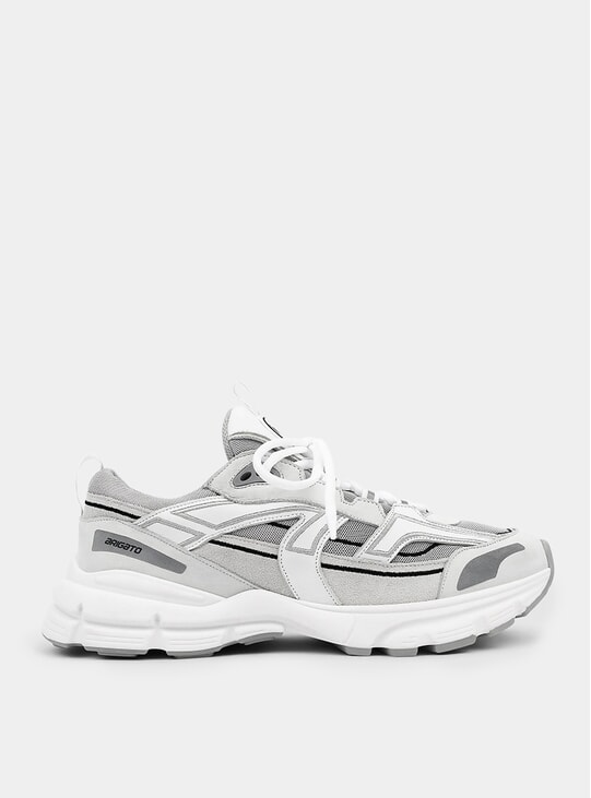 Grey / White Marathon R-Trail Sneakers