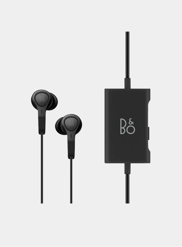 Black E4 Headphones