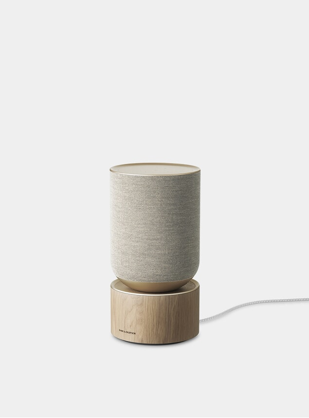 Natural Oak BeoSound Balance Speaker w/ Google Assitant