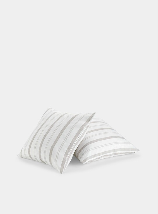Beige Porto Linen Cushions