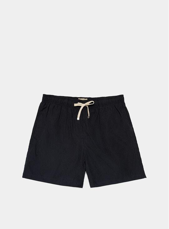 Black Classic Swim Shorts