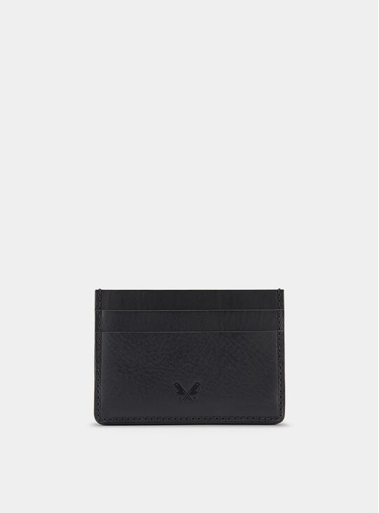 Black Farringdon Card Holder