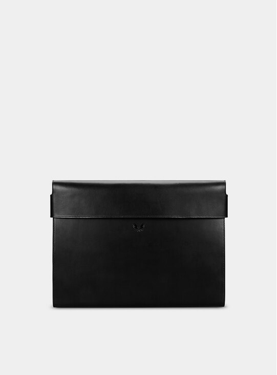 Black Leather Folio