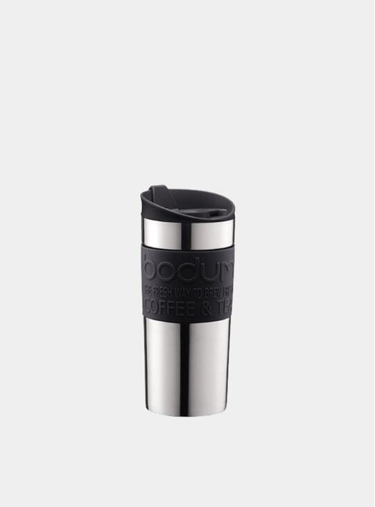 Black Vacuum Travel Mug, 0.35L