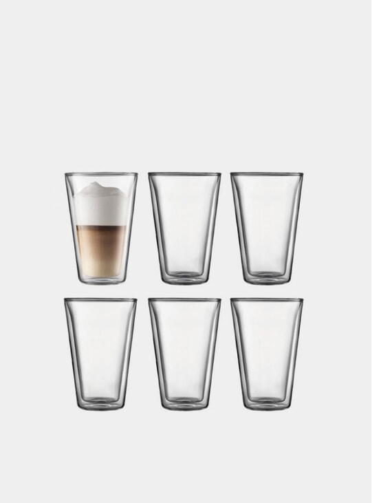 Double Wall Glass Set, 0.4L