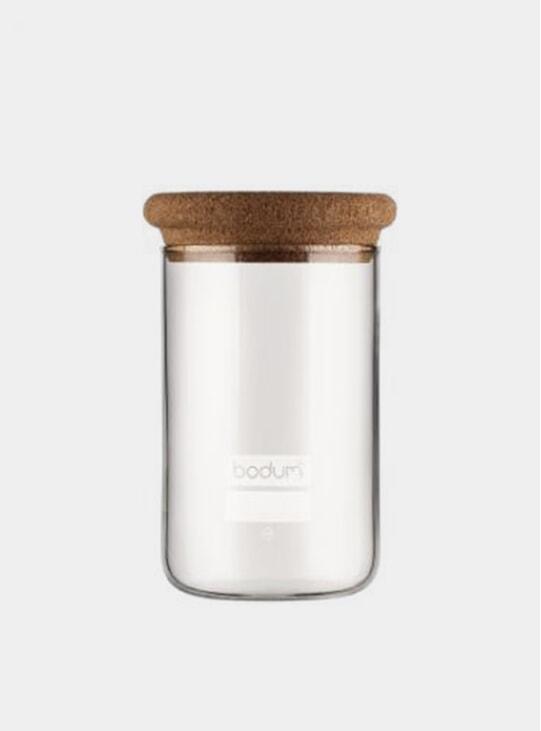 Yokhi Storage Jar w/ Cork Lid, 0.6 L