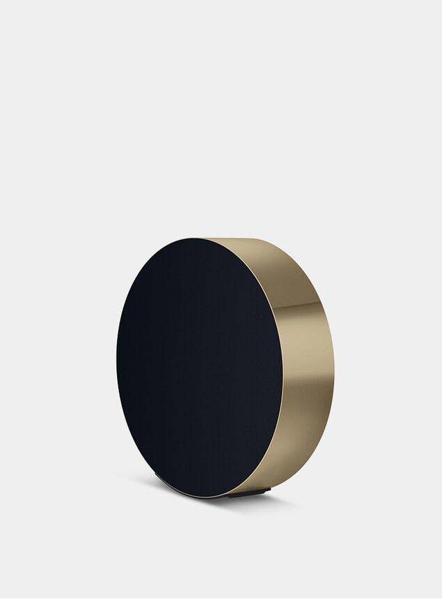 Brass BeoSound Edge Speaker