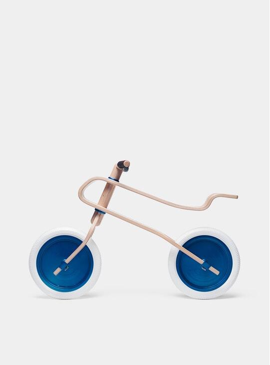 Candy Blue / Oak Balance Bike