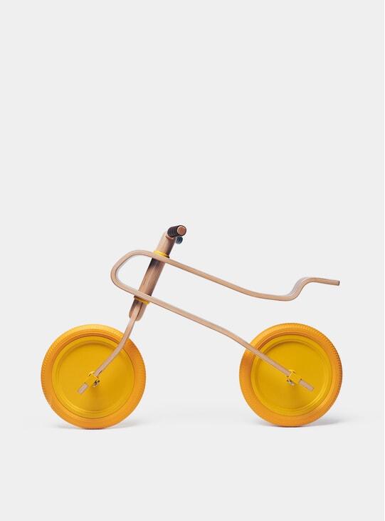 Candy Yellow / Oak Balance Bike
