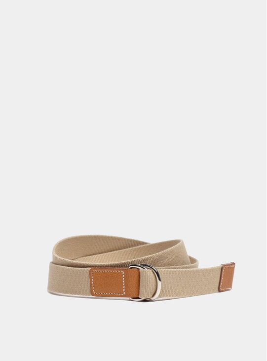 Tan CC x Albam D Ring Belt