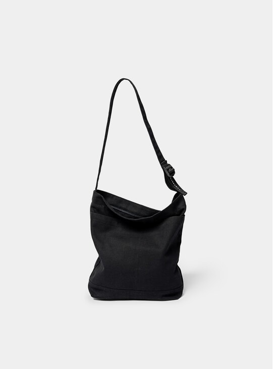 Black O Tote Bag