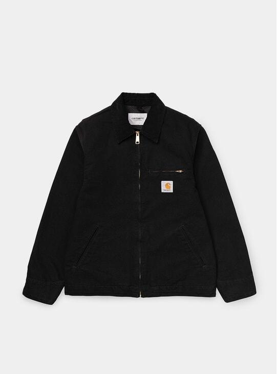 Black Rinsed Detroit Jacket