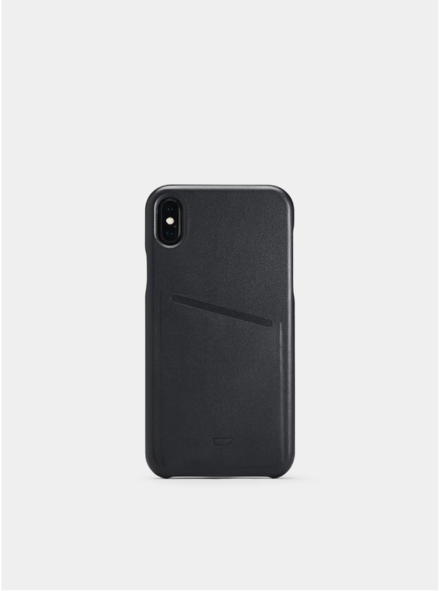 Black iPhone XS Pocket Case