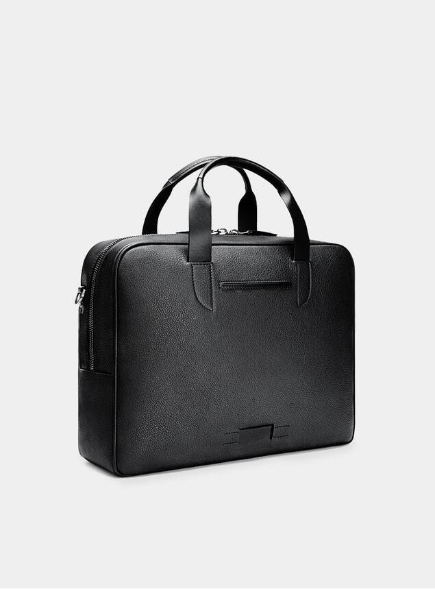 Black / Orange Bolton Briefcase