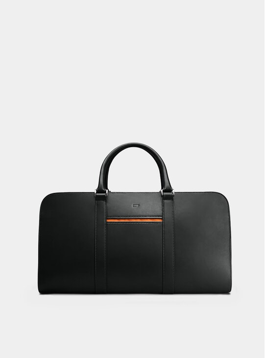 Blakc / Orange Palissy Weekend Bag