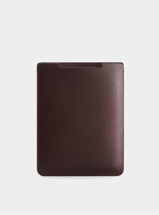 "Chocolate 11"" Walton iPad Air Leather Sleeve"