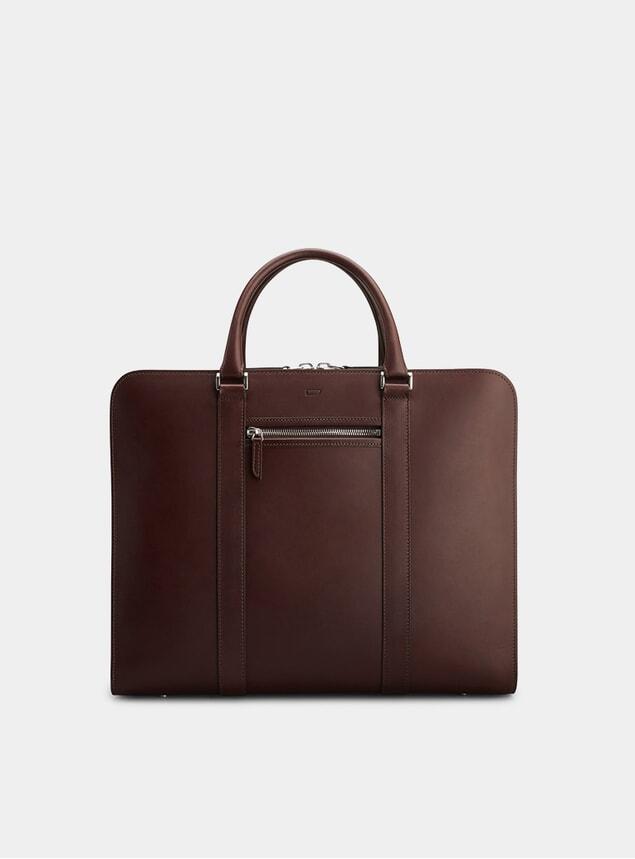 Chocolate / Grey Palissy 25 HR Briefcase
