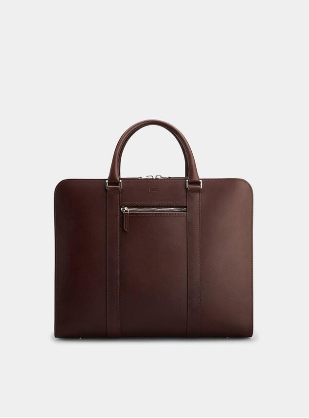Chocolate / Orange Palissy 25 HR Briefcase