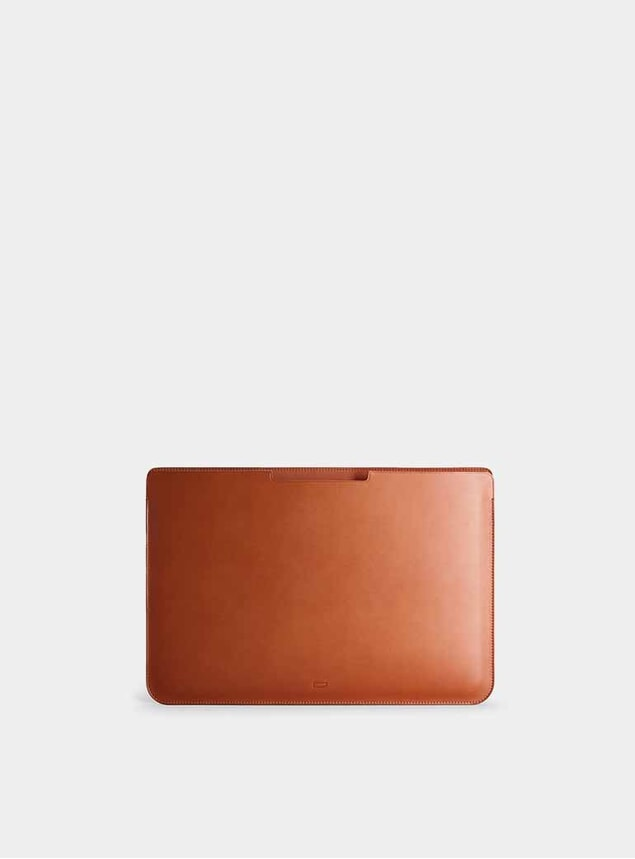 """Cognac 15"""" Walton MacBook Pro Sleeve"""