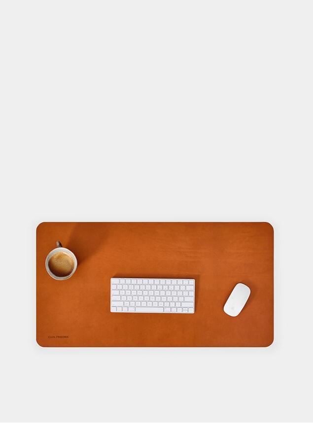 Cognac Desk Mat