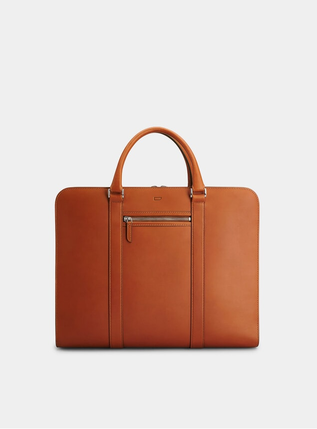 Cognac / Grey  Palissy 25 HR Briefcase