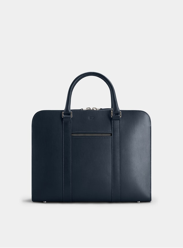 Navy / Grey Palissy Briefcase