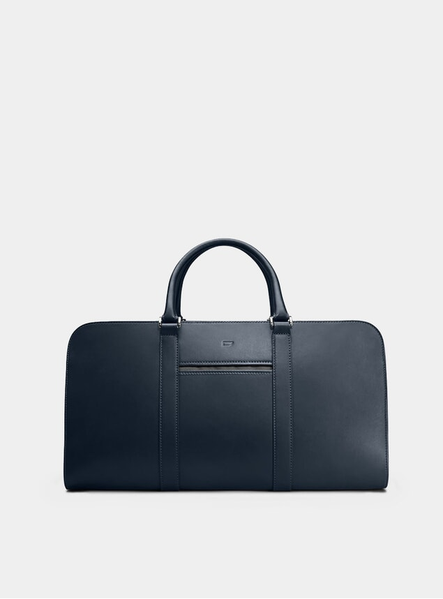 Navy / Grey Palissy Weekend Bag
