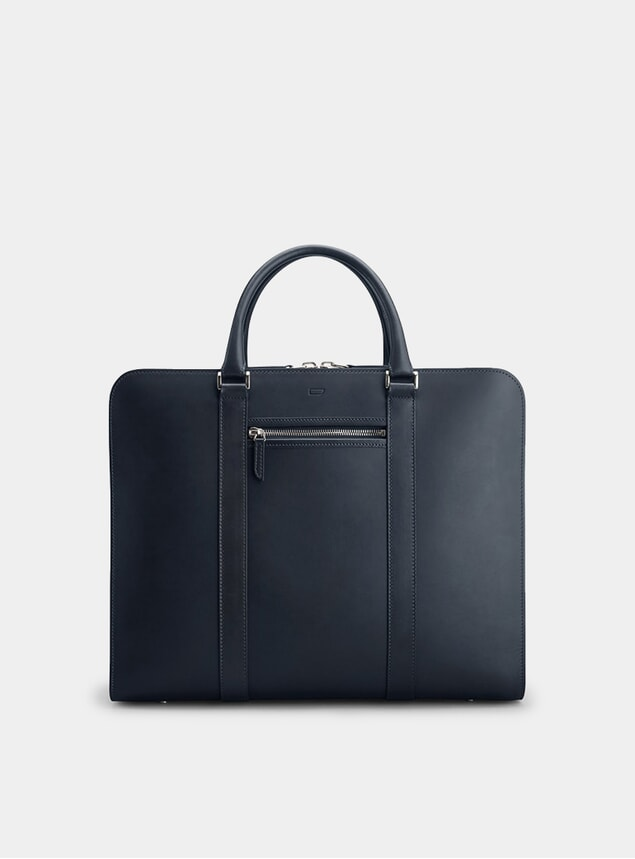Navy / Orange Palissy 25 HR Briefcase