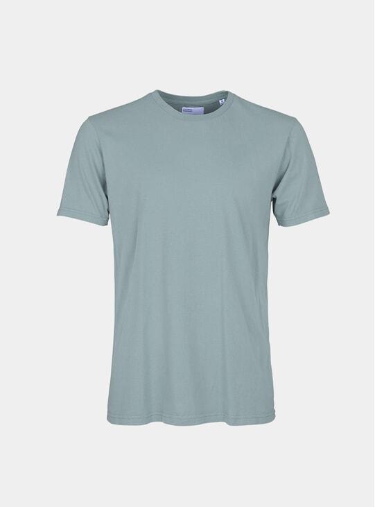 Steel Blue Classic Organic T Shirt