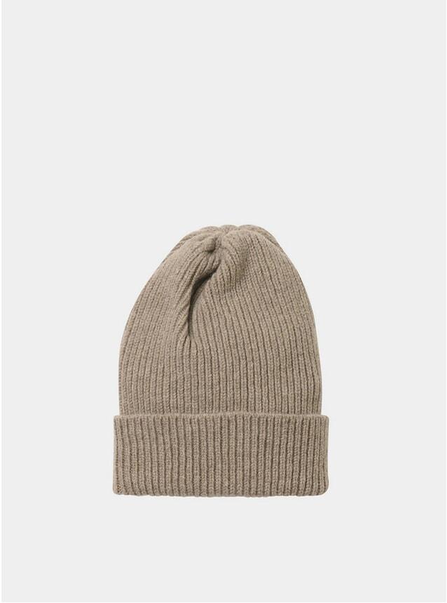 Mushroom Staple Lambswool Hat