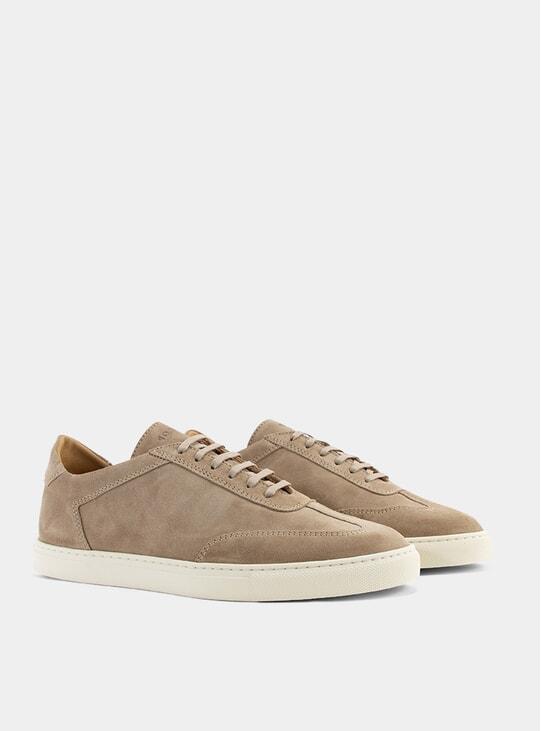 Dark Beige Otium Sneakers