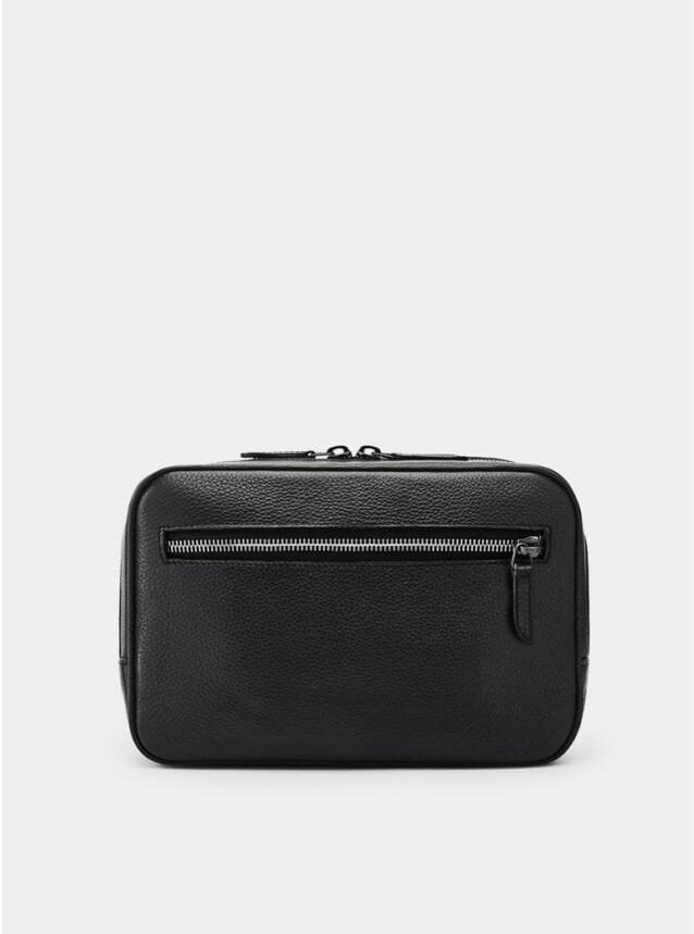 Black Berwick Grained Wash Bag