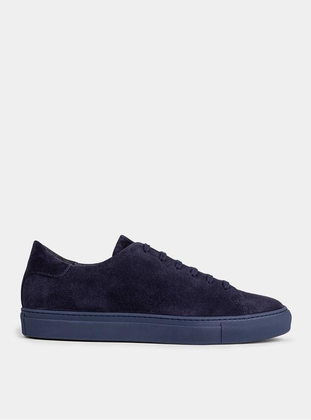 Blue Suede Alfredo Sneakers