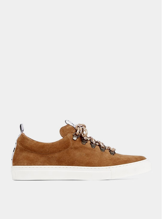 Tan Drake Hiker Low Sneakers