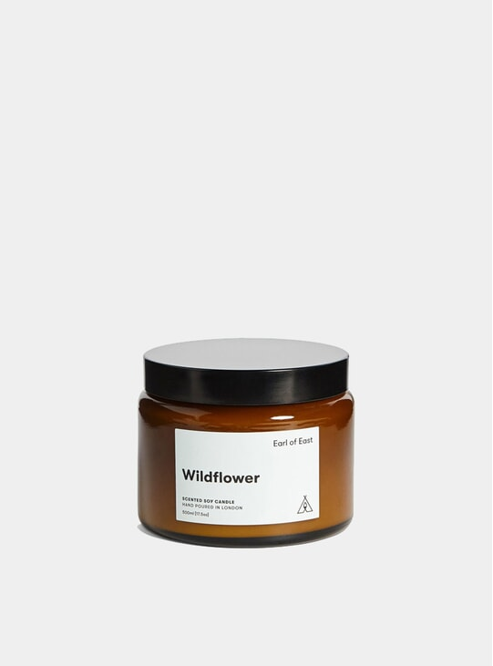 Wildflower Soy Wax Candle, 500ml