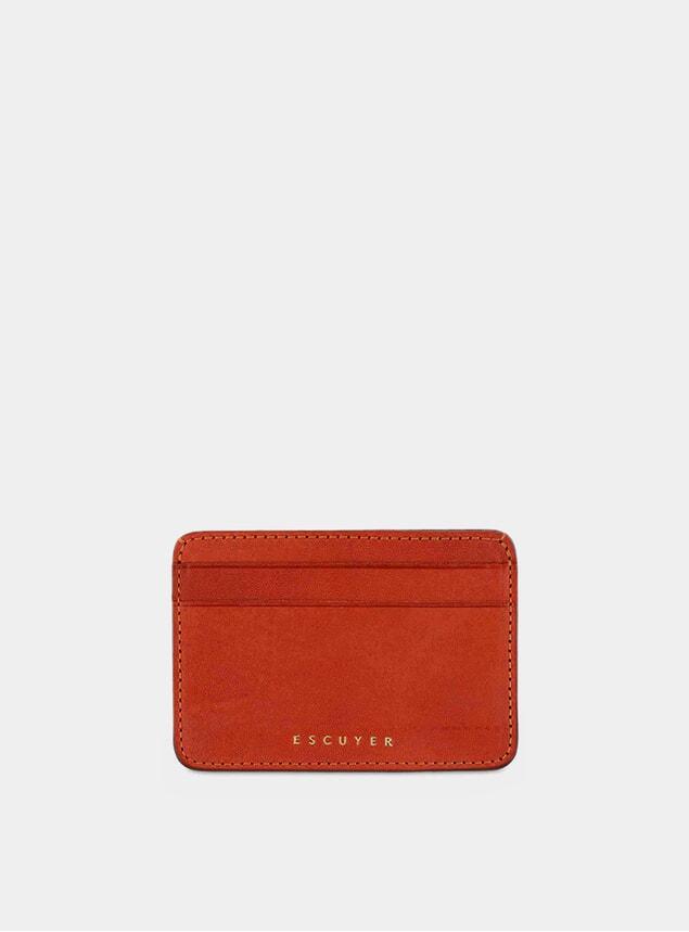 Orange Cardholder