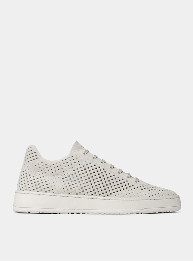 Perforated White LT 05 Sneakers