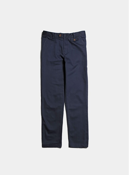 Navy Tricker Trousers